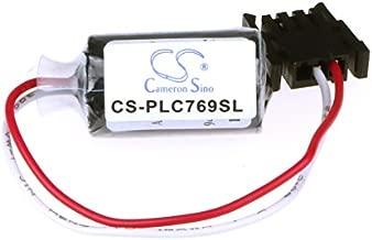 XPS Replacement Battery Compatible with Allen Bradley 1746-BA 1746-BAS 1747-BAS 1747-L20 COMPACTLOGIX 1769-L23E-QB1B 1769-L23E-QBFC1B HHT MicroLogix 1500 PN 0299-MP1006J441 1745-B1 1746-BAS 1747-BA