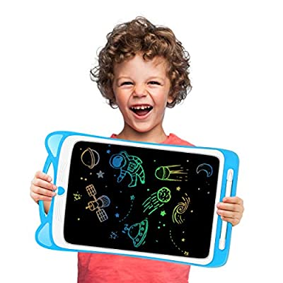 LODBY Drawing Sketch Pad Toys for 2-6 Year Old Boys Birthday Gifts, 12-inch LCD Writing Tablet for Educational Toys for 2-8 Year Old Boy, Electronic Drawing Board for Toddler Boys Toys Age 2-8 from LODBY