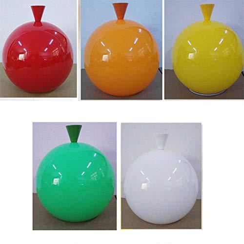 Lampada a sospensione colorata a forma di palloncino a LED, per bambini, amici, camera da letto, soggiorno, sala da pranzo, Giallo, 25 cm