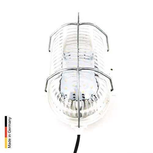 Sauna Led Leuchte Classic, inkl. 4m Silikon-Leitung und Netzteil 12V/230V von artvion