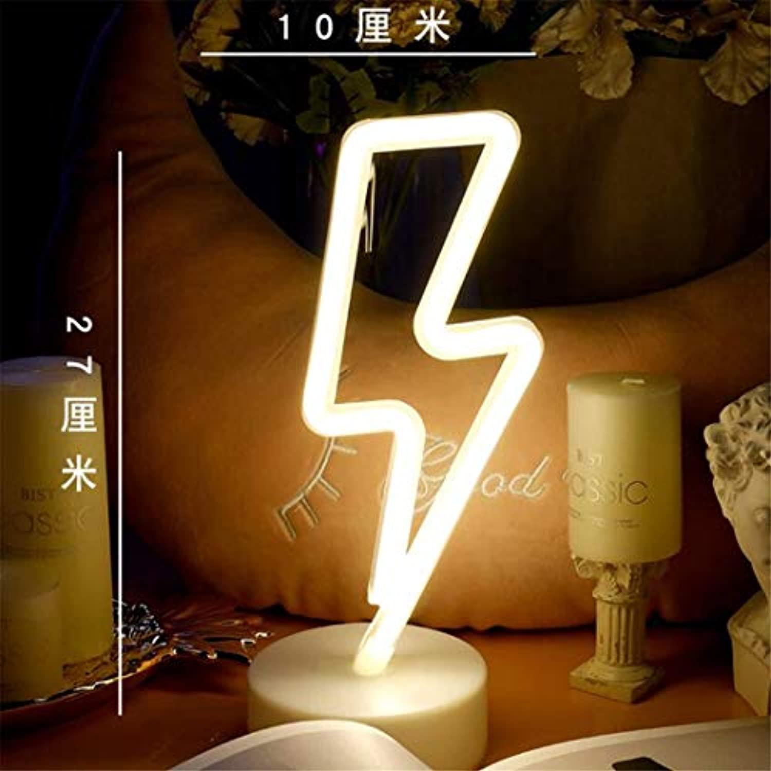 QiXian Ceiling Light Ceiling Lamps Night Lamps Led Neon Girl Room Layout Girl Heart Bedroom Decoration Light Lamp Lightning Night Lamps