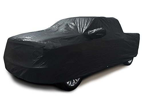 Xtrashield Custom Fit 1998-2018 Dodge Ram 1500 2500 3500 Crew Cab 6.5 ft Short Bed Truck Car Cover Black