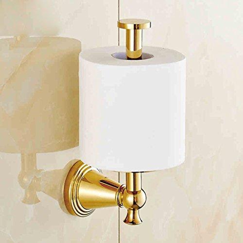 Toilettenpapier Regal-BOBE SHOP Vergoldete Kupfer und Gold Handtuchwärmer Vollrollenhalter Kreative Tissue Box Papierhalter Papierhandtuchhalter