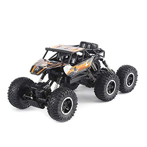 ZHIHQ RC Coche Teledirigido Rock Crawler 6WD Talla Grande 2.4Ghz Fuera del Camino Carro De Control Remoto Electrónico Camión Monstruo Impermeable Juguetes para Niños Y Adultos, Mejor Regalo
