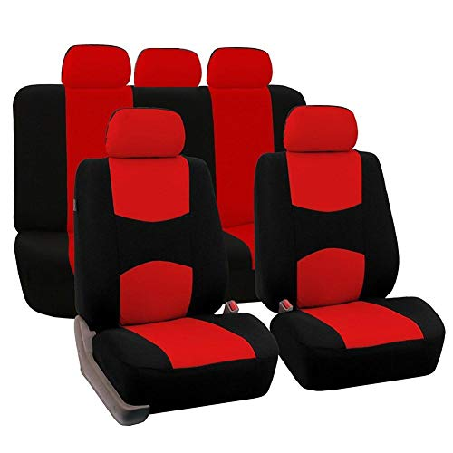 Loveinwinter 9PCS Auto sitzbezüge universal Set, Autositzbezug Schonbezug Sitzbezug Für Das Auto Sitzbezüge Autositz (Farbe optional)