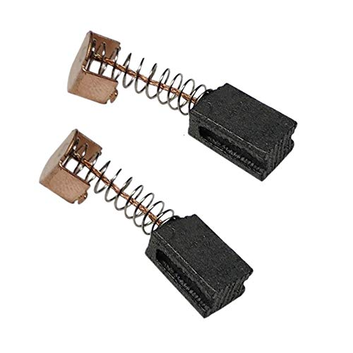 F-MINGNIAN-TOOL, 10 Pares de cepillos de Carbono 5x8x12mm for Electric Motors Negro Decker Amoladora Angular G720