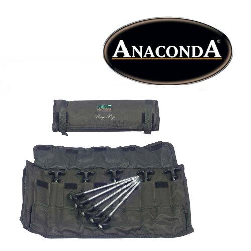 Sänger Top Tackle Systems ANACONDA Bivvy Pegs Large/Zeltheringe (10 Stück/31cm)
