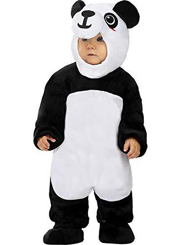Funidelia | Disfraz de Oso Panda para bebé Talla 0-6 Meses ▶ Animales, Oso - Multicolor