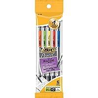 Bic Mechanical Pencil–# 2鉛筆Grade–0.7MM Leadサイズ–5/パック