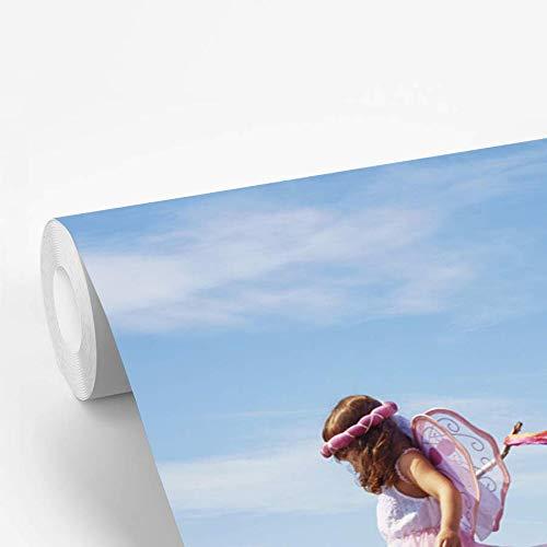 Fotobehang vinyl Kinderen in verkleedkleren - Jongen en meisje verkleed als piraat en fee 600x400 cm
