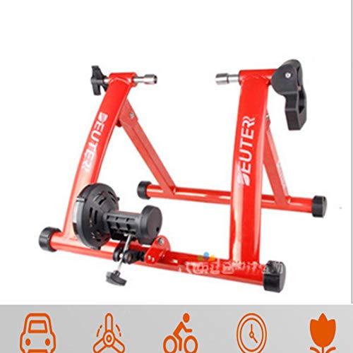 NNZZY Fahrradtrainer, Fahrrad Rollentrainer Fahrrad Übung Magnetischer Ständer Mit Geräusch Reduktions Rad Für Indoor Fahrradfahren Zu Hause
