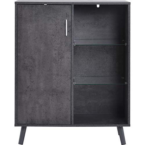 WYLZLIY-Home Sideboard Cassettiera Armadietto Cabinet della Credenza del Comò Cabinet di Legno del...