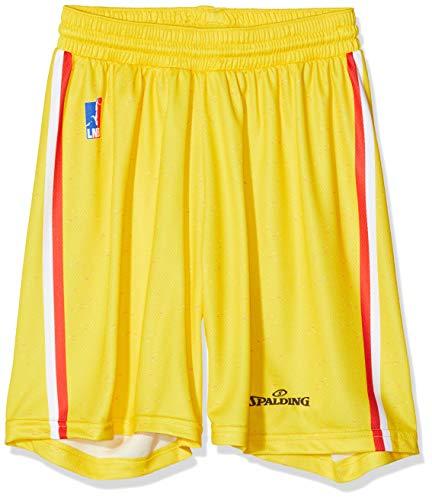 Vichy-Clermont Herren Basketball J.a Vichy-Clermont Offizielle Shorts zu Hause, 2019-2020 XX-Small gelb
