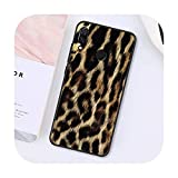 Phone cover Moda Tiger Leopard Print Panther teléfono caso para Xiaomi para Redmi8 4X 6A S2 Go para Redmi 5 5Plus Note8 Note5 7 Note8Pro-A5-Para Redmi Note9Pro
