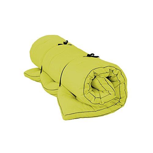 mächtig der welt Vita-Line Shiatsu Bettdecke Vegan XXL 100% Baumwolle, Breite: 240 cm, Länge: 200 cm, Farbe: Hellgrün F086