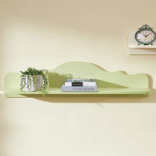 Boekenrek Moderne minimalistische woonkamer slaapkamer studie wandbehang Schindel rek Sterke draagkracht robuust en duurzaam op de wandplanken opslagrek decoratief frame 110 * 19,5 * 27 cm