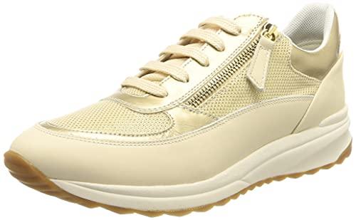 Geox D AIRELL A, Zapatillas Mujer, Azul Marino, 36 EU