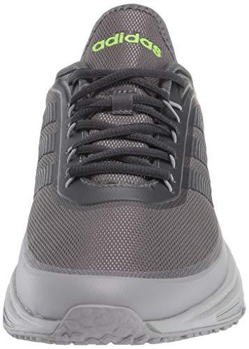 adidas Quadcube - Zapatillas para hombre, Gris (Gris oscuro), 42 EU