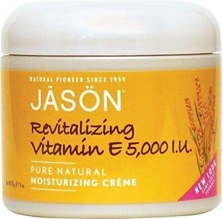 Revitalizing Vitamin E 5,000 IU Moisturizing Creme, 5,000 IU 4 oz Cream by Jason Natural