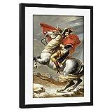 artboxONE Poster mit Rahmen schwarz 30x20 cm Napoleon