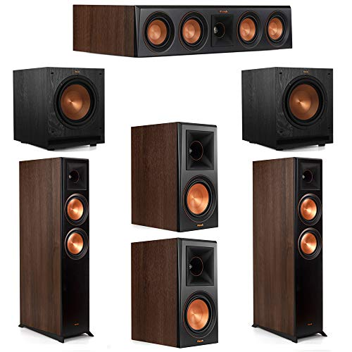 Why Should You Buy Klipsch 5.2 Walnut System 2 RP-6000F Floorstanding Speakers, 1 Klipsch RP-404C Ce...