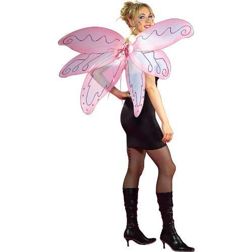 Rubie's Pixie Wings, Pink, One Size