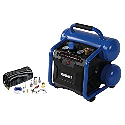 Kobalt 2-Gallon Portable Electric Twin Stack Air Compressor