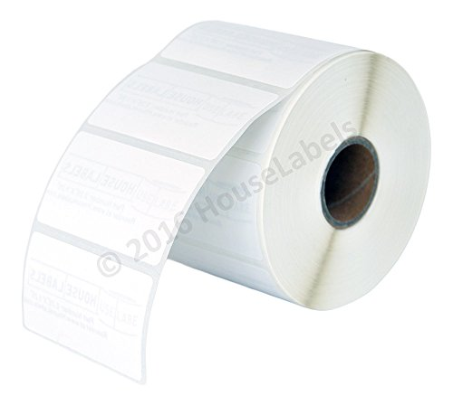 """6 Rolls; 1,000 Removable 2.25"""" x 1.25"""" Direct Thermal Labels per Roll Compatible with Zebra/Eltron- 2.25 x 1.25 Labels (2-1/4"""" x 1-1/4"""") - BPA Free!"""