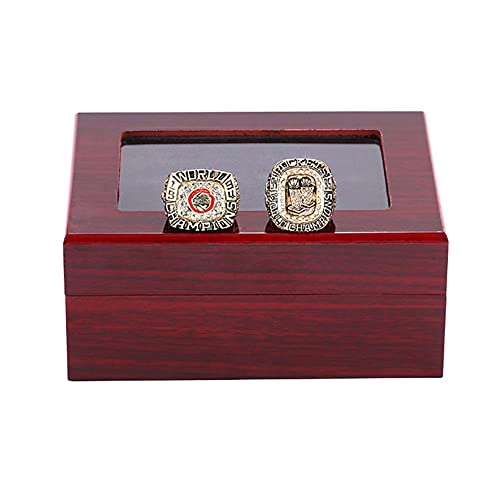 WSTYY NBA 1994 1995 Houston Rockets Championship Ring Campeonato campeones de Baloncesto Anillo de réplicas de Aficionados colección Regalo Hombre Recuerdo,with Box,13#