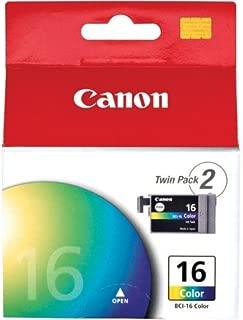 CANON Inkjet, Color, Selphy DS-180, 700, 810, PIXMA iP90, BCI-16 - 2 Cartridges per box 2/PK