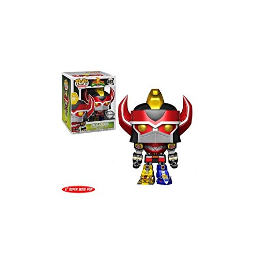 Funko Pop Power Rangers AAA Anime Exclusivo Megazord Vinyl Figure