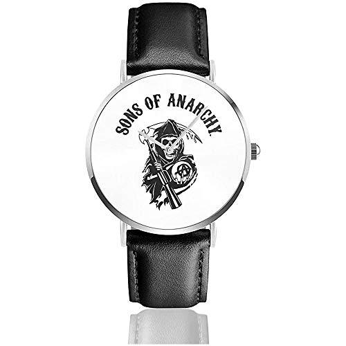 Reloj Oficial con Correa de Cuero Sons of Anarchy Reloj de Pulsera...