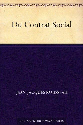 Couverture du livre Du Contrat Social