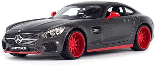 hclshops Modelo del Coche 1: 24 Mercedes Benz AMG GT Simulación de aleación de fundición Adornos de Juguete Sports Car Collection 19x9x5.5CM joyería