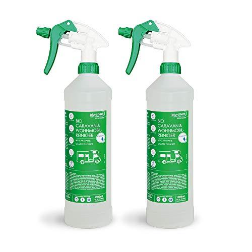 Bio-Chem Caravan- und Wohnmobil-Reiniger Konzentrat Reiniger für Wohnmobile Wohnwagen Vorzelte (2 x 1000 ml)