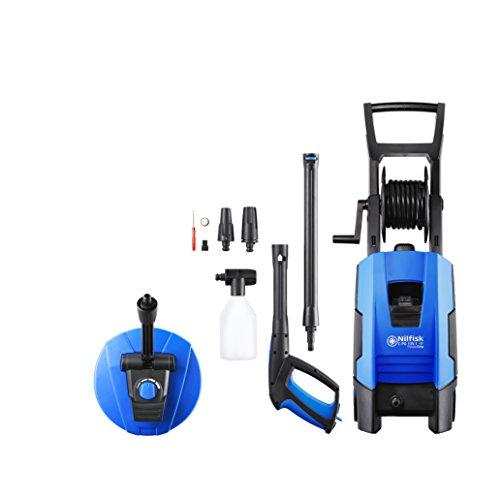Nilfisk 128471169 C 135.1 Hochdruckreiniger, Aluminium, Schwarz/Blau