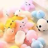 Boji Antistress Ball Mochi Tiere, 50pcs Mini Cute Animals Squishy Spielzeug Anti Stress Relief...