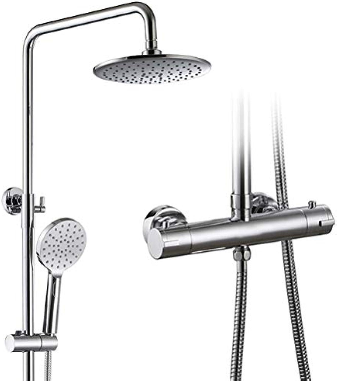Temperaturregelung Dusche Intelligente Konstante Temperatur Dusche Booster Dusche Set Duschkopf Kupfer Wasserhahn