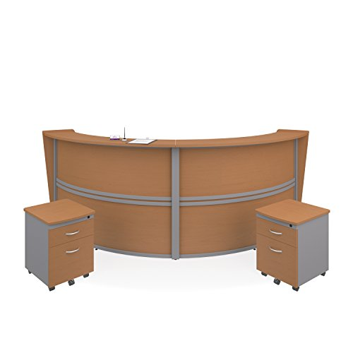 OFM Double Unit Curved Reception Station