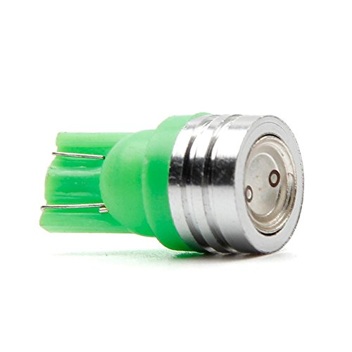 1W T10 W5W 168 194 SMD LED voiture queue Wedge lampe ampoule 12V Xenon blanc (Vert)