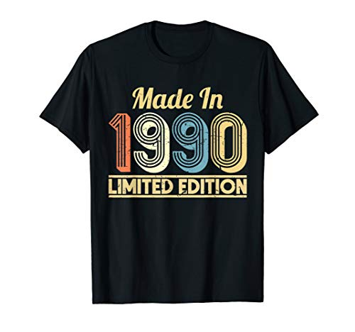 30. Geburtstag Made In Limited Edition September 1990 T-Shirt