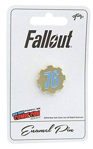 Fallout 76 Enamel Pin NYCC Exclusive