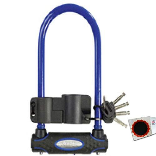 keine Angabe Master Lock Bügelschloss 8195 13mm x 280mm x 110mm Schlüssel blau 1,25kg Fahrrad