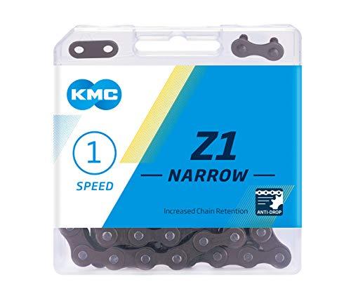 "KMC Z1, cadena unisex, marrón, ancho (1/8"")"