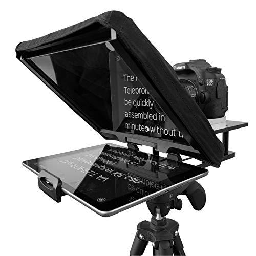 Forest Teleprompter-Set für iPad / iPhone / Tablets, DSLR und Videokameras Inklusive passendem Flightcase.