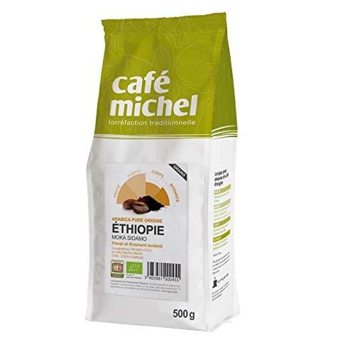Arabica Kaffeebohnen sidamo etiopia fair trade bio 500 g - Cafe Michel