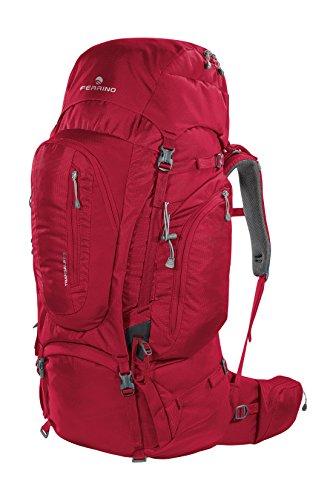 Ferrino Transalp 100, mochila unisex-adulto, Unisex adulto, Transalp 100, rojo, L