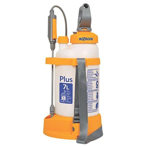 Hozelock Plus - Pulverizador presión translúcido