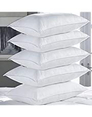 Shilpi Impex Microfibre Filled 17'' X 27 '' Pillows for Sleeping Set of 5