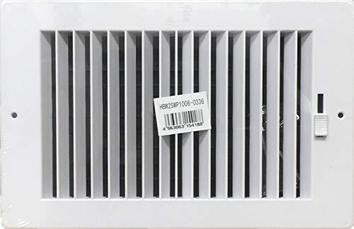 10x6 register plastic - 3